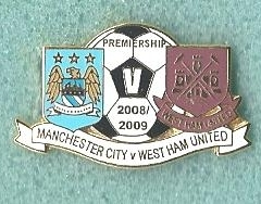 Manchester City V West West Ham United 2009