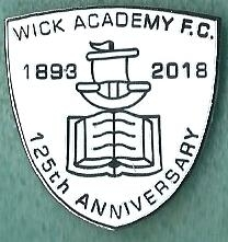 Wick Academy 125th Anniversary.